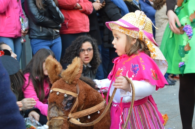 Los niños de Tucán pusieron el broche de oro al Carnaval