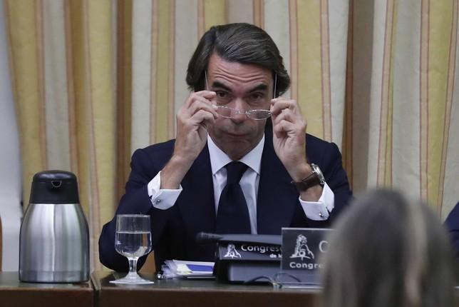 Aznar niega su vinculación con la 'Gürtel'