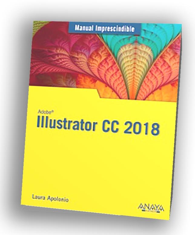 Portada del libro Ilustrator CC 2018