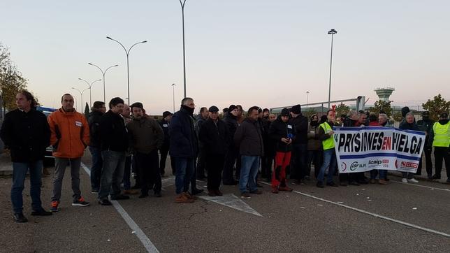 Los 2.400 empleados de prisiones de CyL secundan la huelga