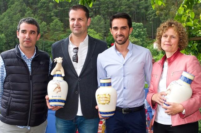 Premio a los valores de un gran ciclista Fernando Chinarro Fuentes