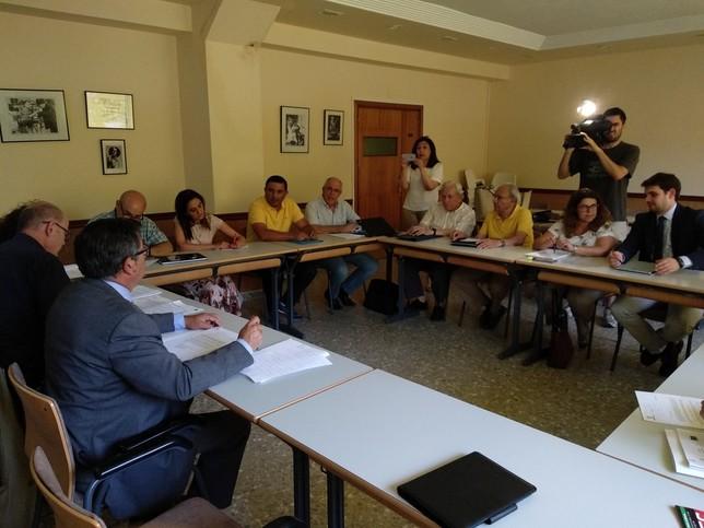 La ITI financiará obras en colegios de 14 municipios