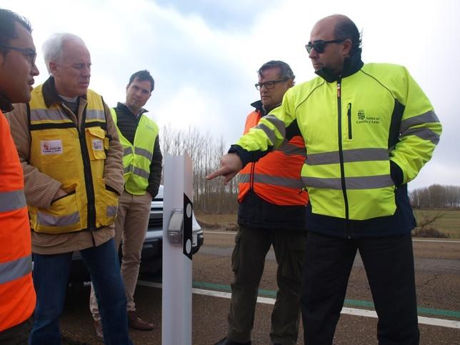 Carreteras prueba sistemas para reducir choques con animales
