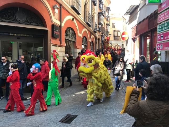 Toledo da la bienvenida a la buena suerte china