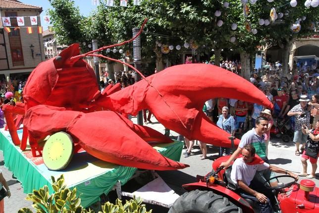 El cangrejo vence al calor Brágimo
