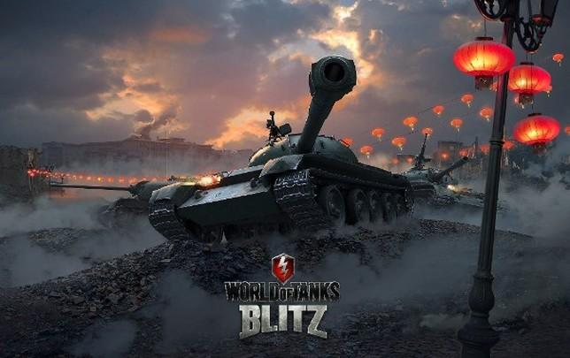 Uno de los tanques del juego de Wargaming