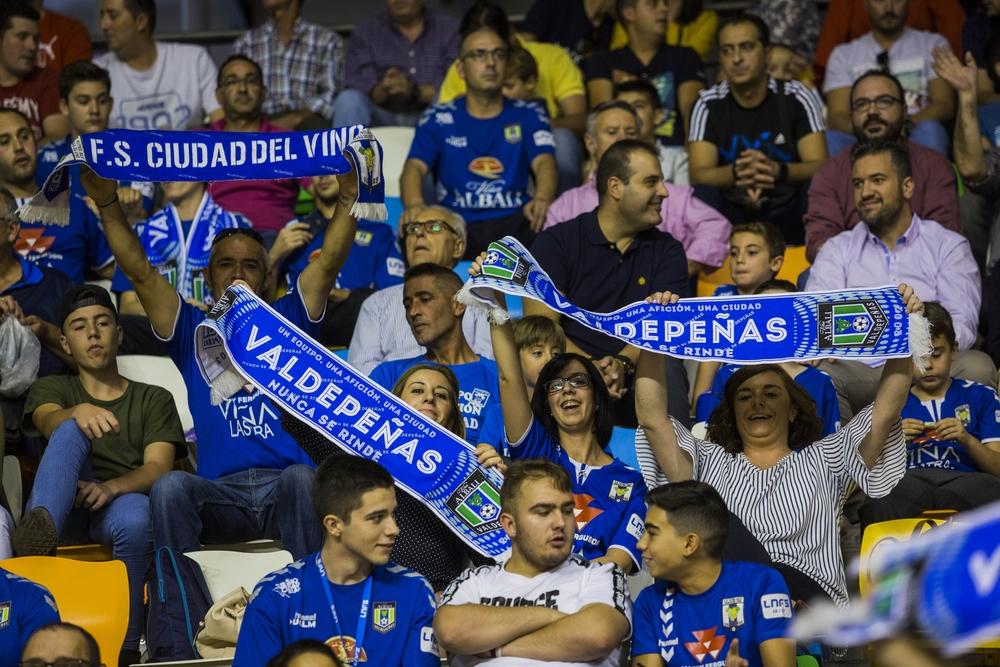 Partido entre el Viña Albali Valdepeñas y el Cartagena
