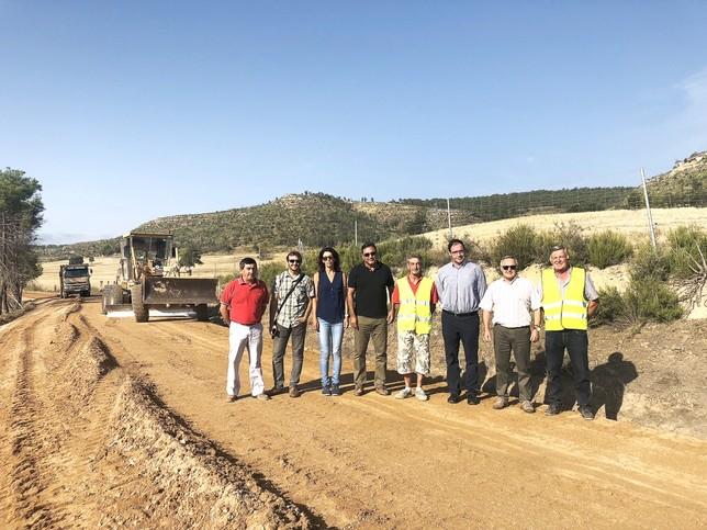 La Diputación y la Junta aceleran el convenio de caminos