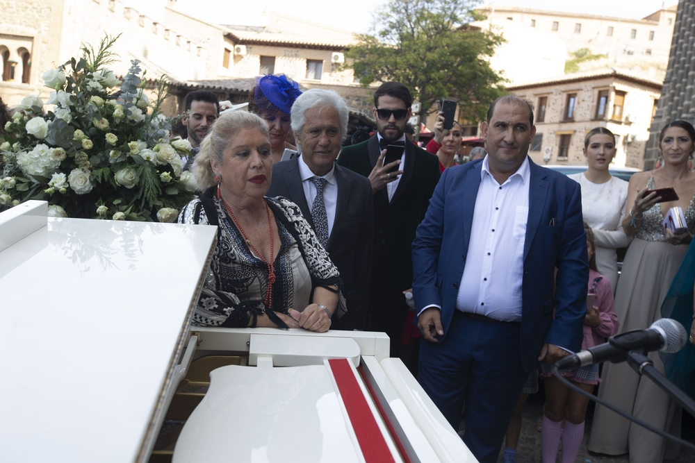 Boda de la cantante María Toledo con el torero sevillano Esaú Fernández.