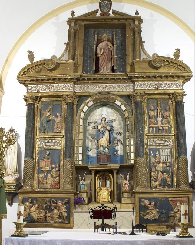 La Diputación restaurará siete retablos de la provincia