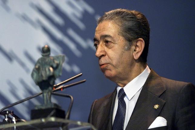 Premios Martinillos 2000. Premio especial para el expresidente del Burgos CF José Luis Preciado.