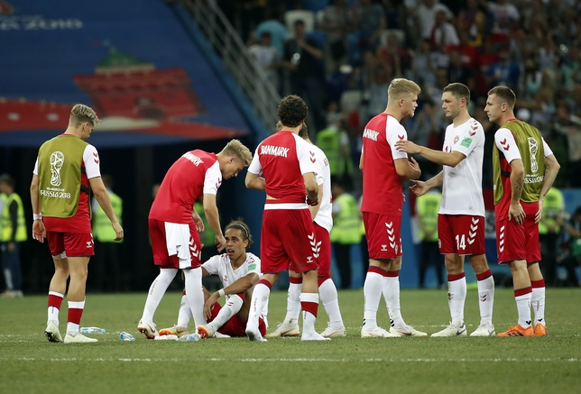 Round of 16 Croatia vs Denmark