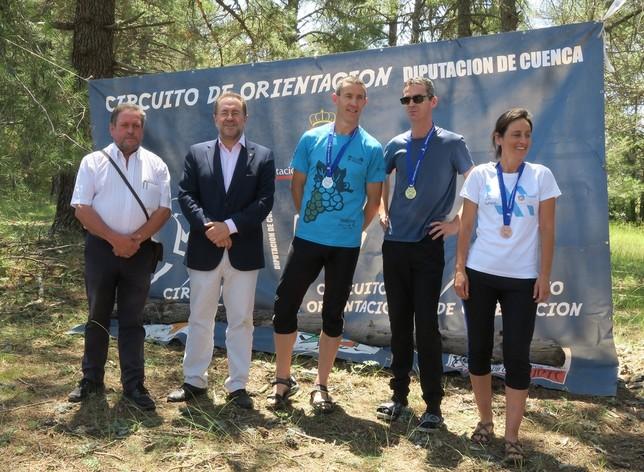La prueba de Orientación de Buenache acoge a 343 corredores