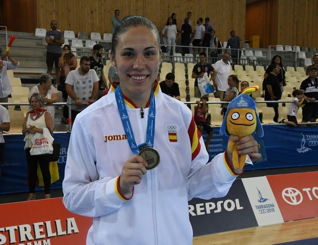 Oro en los Juegos Mediterráneos
