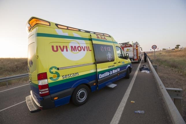 Accidente en la Autovía del Cuarto Centenario TOMÃ?S FERNÃ?NDEZ DE MOYA