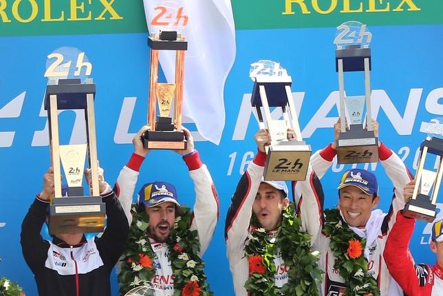 Alonso conduce a Toyota al triunfo EDDY LEMAISTRE