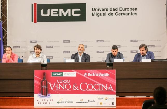 Curso sobre el Vino de la UEMC. D.V.