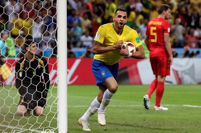 BRASIL VS. BÉLGICA