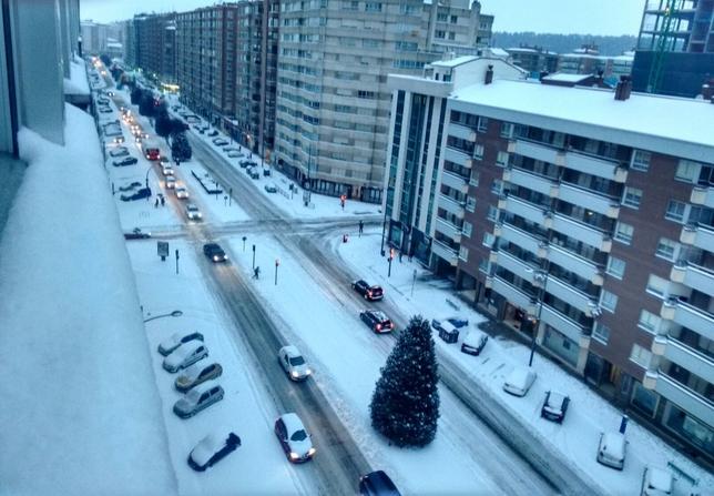 Avenida La Paz.