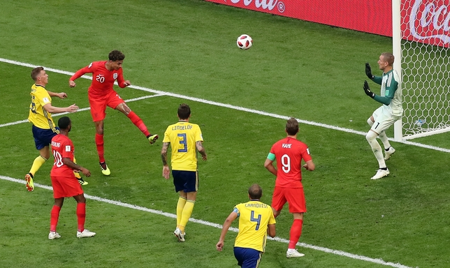 Quarter Final Sweden vs England