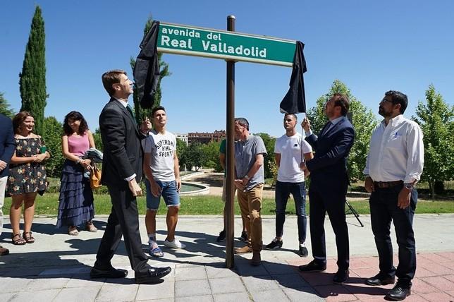 Valladolid estrena la avenida Real Valladolid