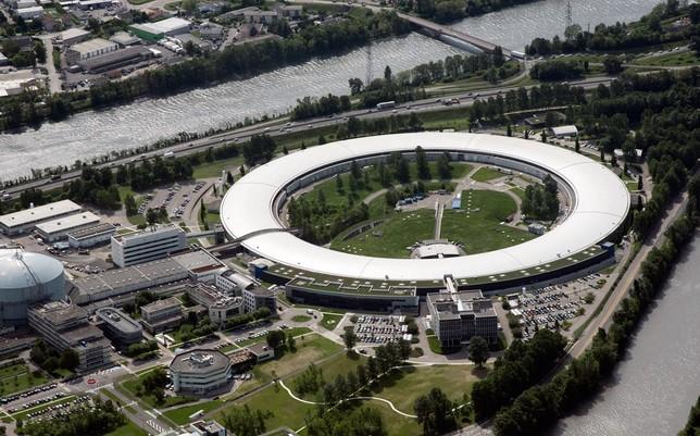 Imagen aérea del laboratorio Europeo de Radiación Sincrotrón, en Grenoble (Francia), donde se han realizado los experimentos ESRF / D. MOREL.