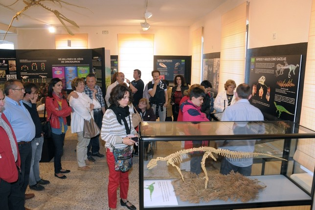 El año pasado, este espacio recibió la visita de 12.300 personas. Museo de Dinosaurios
