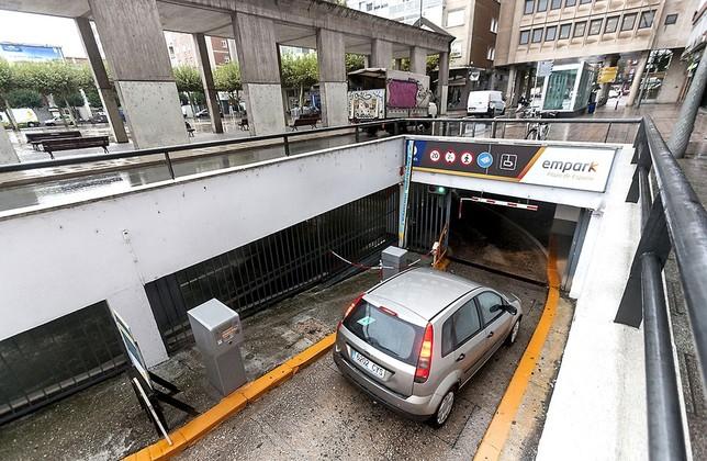 Abren la vía para que los parking en concesión no paguen IBI