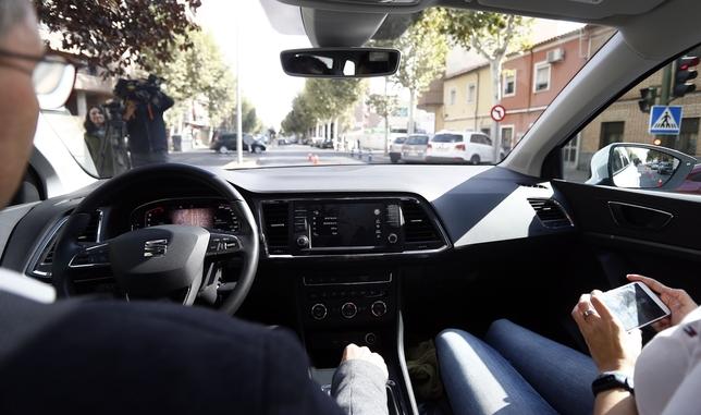 Talavera sigue subida al 5G con el vehículo conectado Manu_Reino