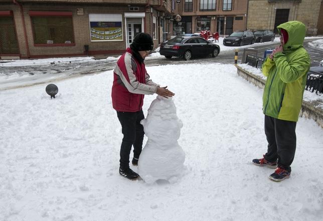 Nieve en Carrión
