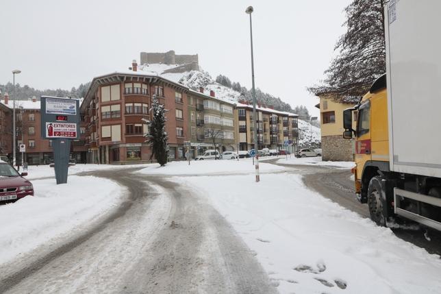 Nieve en Aguilar