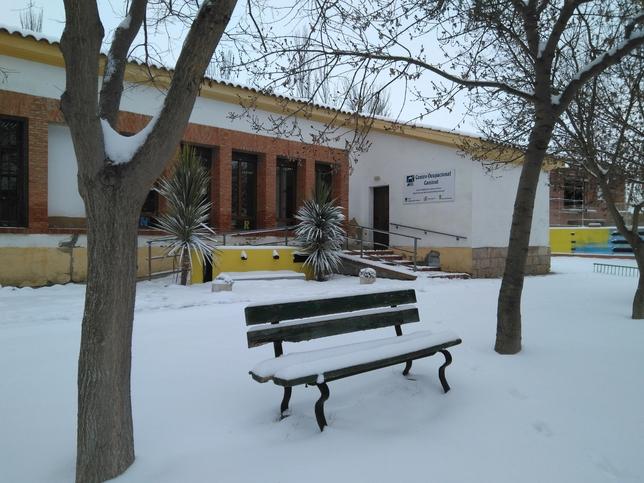 Nieve en San Cebrián y Frómista