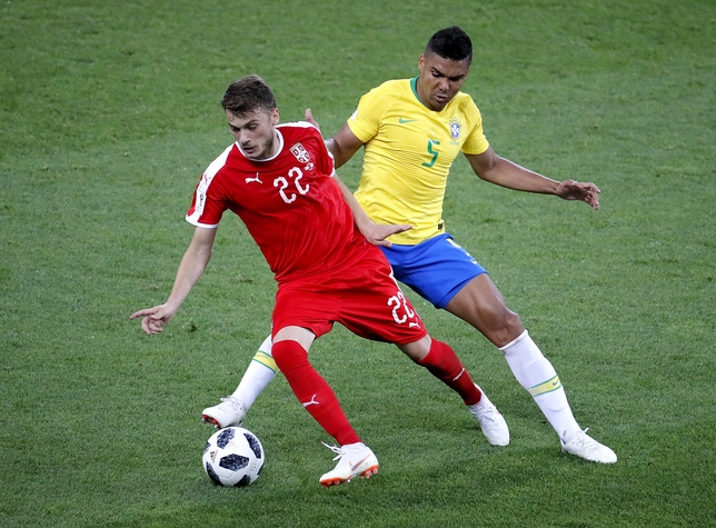 Group E Serbia vs Brazil