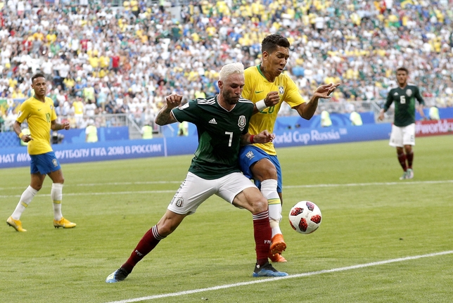 Round of 16 Brazil vs Mexico