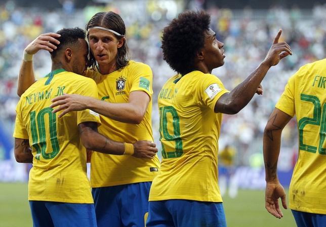 Round of 16 Brazil vs Mexico