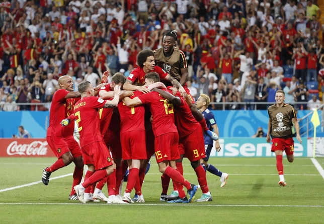 Round of 16 Belgium vs Japan