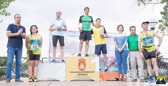 Ordoño y Algarra se llevan la carrera popular de Quintanar David Rodriguez C.