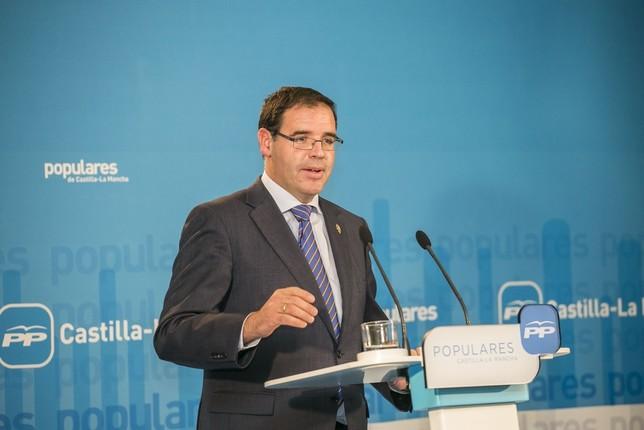 Benjamín Prieto, presidente de la Diputación Provincial