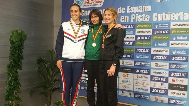 Mayte Martínez, campeona de España Máster