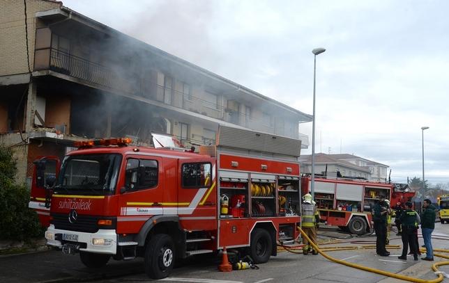 Heridos en explosión de gas en Villasana