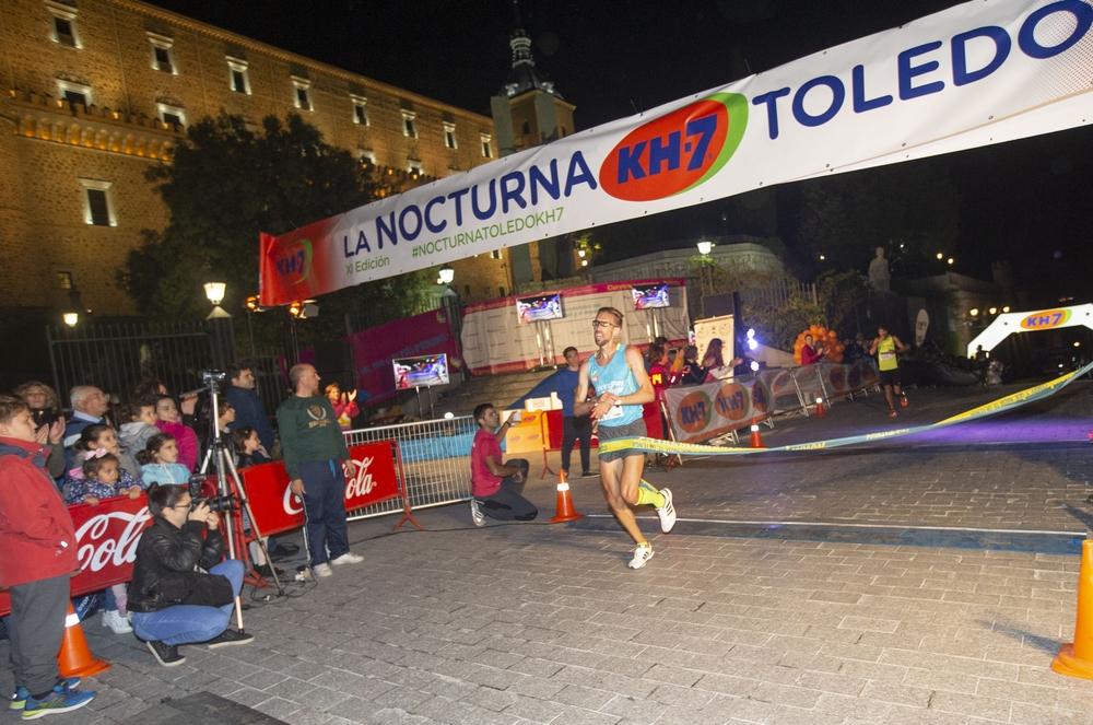 Atletas participantes en la Nocturna de Toledo