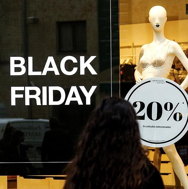 El comercio se aferra al Black Friday