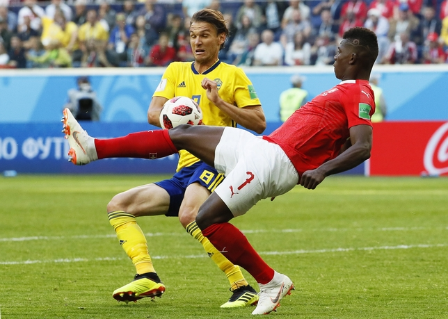 Round of 16 Sweden vs Switzerland