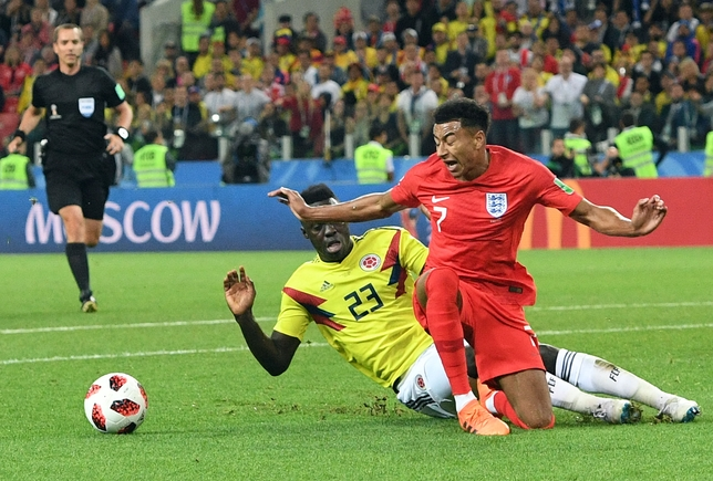 Round of 16 Colombia vs England