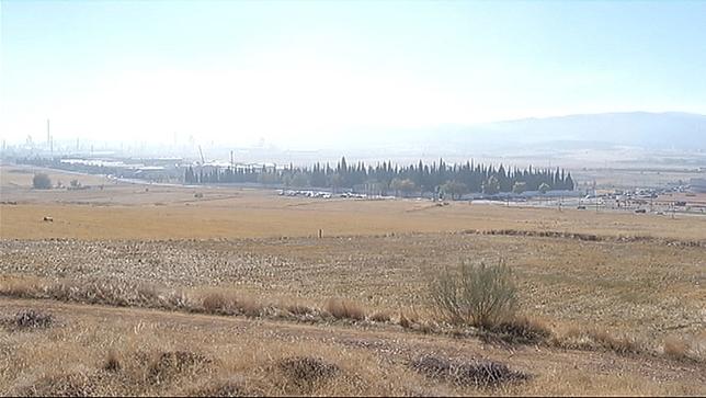 Terrenos ubicados frente al Cementerio Municipal.