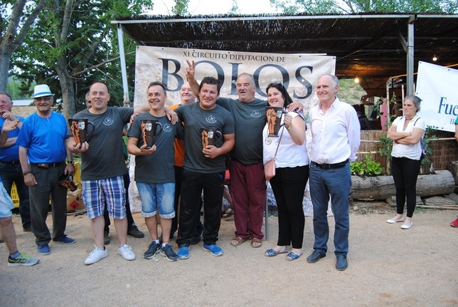 Valdemoro-Sierra gana la segunda prueba del torneo de bolos