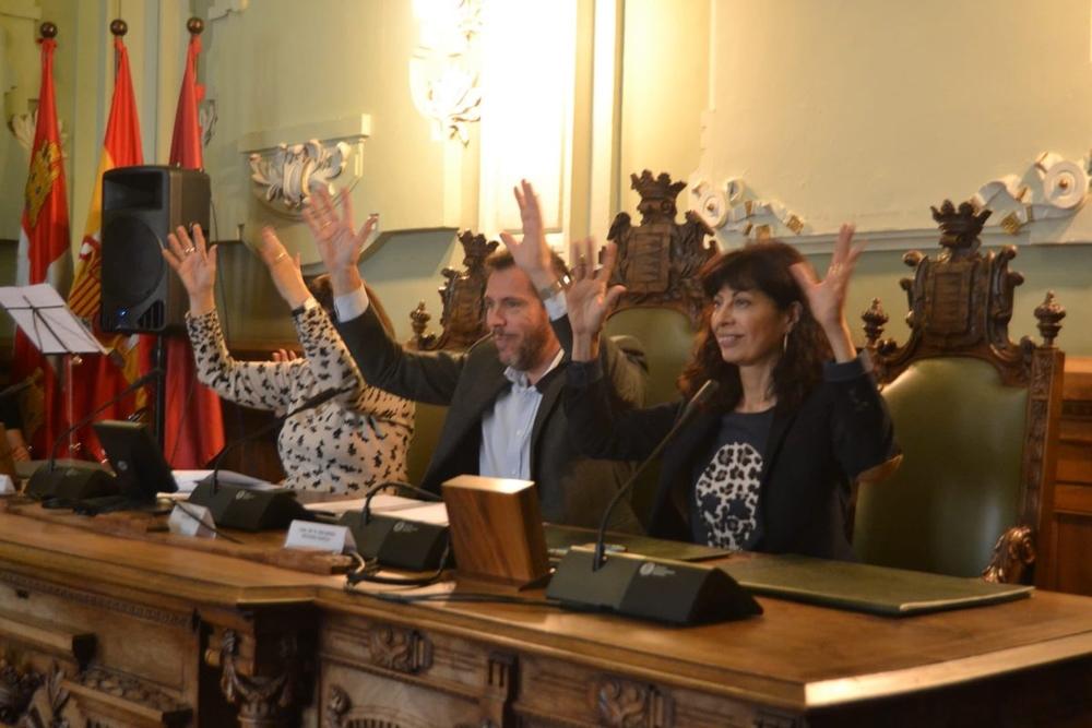 Acto institucional del Día de la Constitución Española del Ayuntamiento de Valladolid
