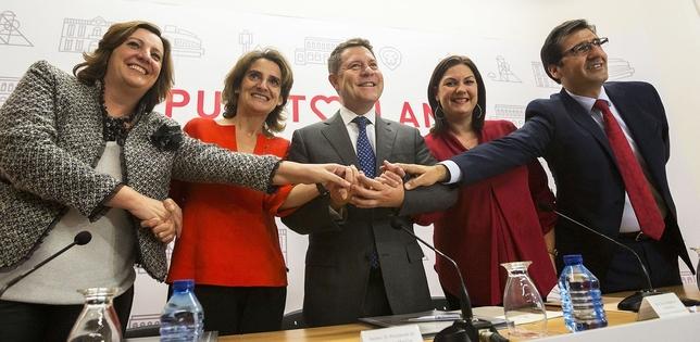 Ribera y Page firman el convenio del Plan del Carbón