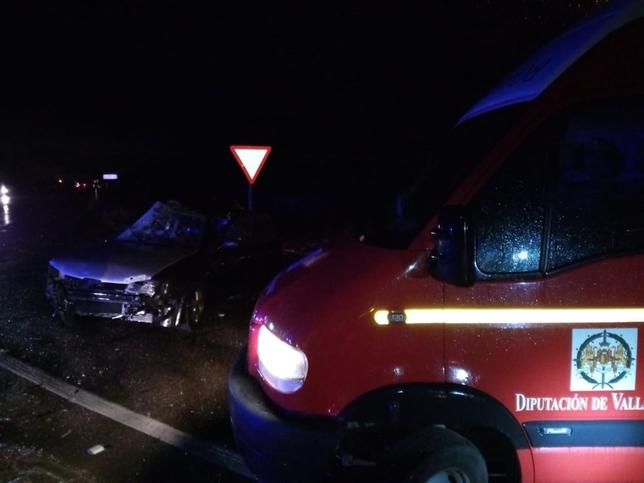 Fallece un joven de 22 años en un accidente en Alcazarén