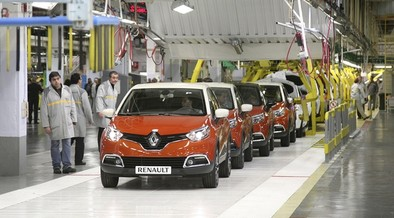 Renault fabrica el Captur 300.000